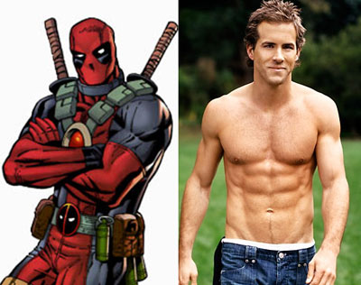 Ryan Reynolds Deadpool Workout on Ryan Reynolds Deadpool Reynolds Who Appears To Be An Ectomorph
