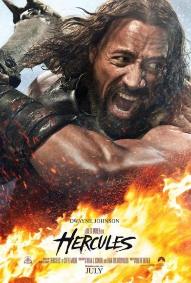 Hercules-TheRock-Poster